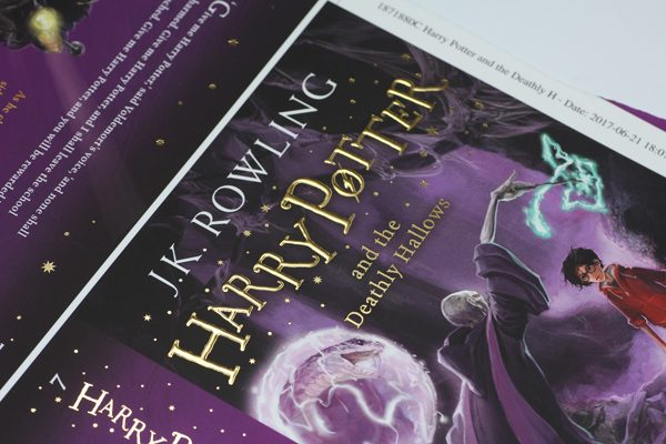 Harry Potter and the Deathly Hallows Foiled Cover
